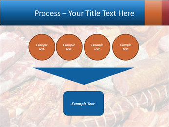 Selection of cold meat PowerPoint Template - Slide 93
