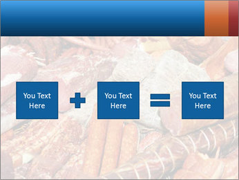 Selection of cold meat PowerPoint Template - Slide 95