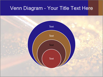 Close-up on brush and shining powder PowerPoint Template - Slide 34