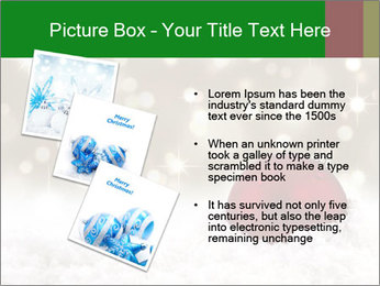 Red Christmas ball PowerPoint Templates - Slide 17