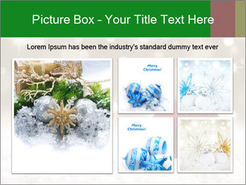 Red Christmas ball PowerPoint Templates - Slide 19