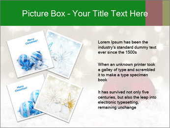 Red Christmas ball PowerPoint Templates - Slide 23