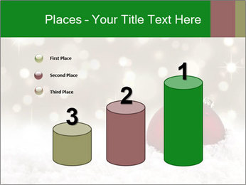 Red Christmas ball PowerPoint Templates - Slide 65