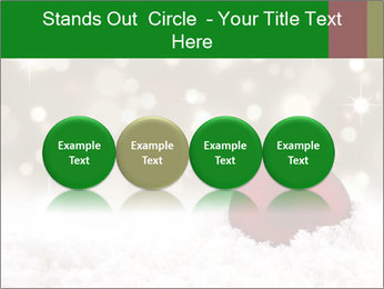 Red Christmas ball PowerPoint Templates - Slide 76