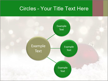 Red Christmas ball PowerPoint Templates - Slide 79