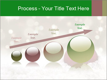 Red Christmas ball PowerPoint Templates - Slide 87