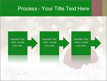 Red Christmas ball PowerPoint Templates - Slide 88