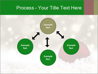 Red Christmas ball PowerPoint Templates - Slide 91