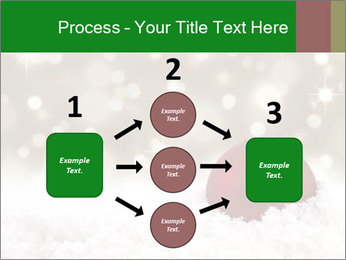 Red Christmas ball PowerPoint Templates - Slide 92
