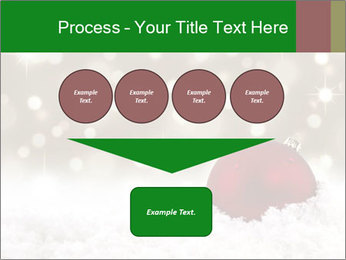 Red Christmas ball PowerPoint Templates - Slide 93