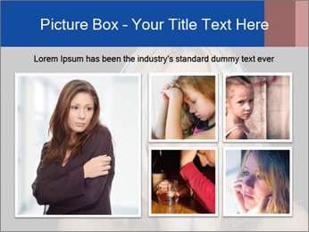 Lonely and depressed PowerPoint Templates - Slide 19