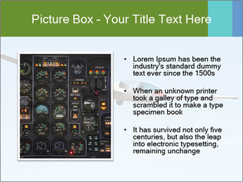 Glider Type G193 Twin II PowerPoint Template - Slide 13
