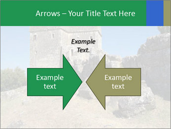 Tower of Ragio in Greece. PowerPoint Templates - Slide 90