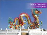Chinese dragon PowerPoint Templates