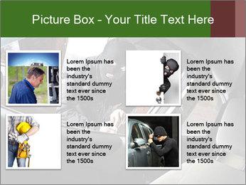 Robber PowerPoint Templates - Slide 14