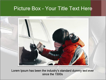 Robber PowerPoint Template - Slide 16