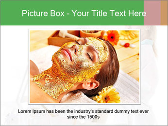 Massage table in beauty spa PowerPoint Template - Slide 15