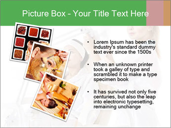 Massage table in beauty spa PowerPoint Template - Slide 17