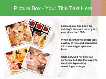 Massage table in beauty spa PowerPoint Template - Slide 23