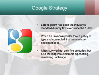 Business people hands PowerPoint Template - Slide 10