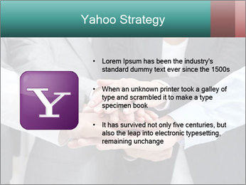 Business people hands PowerPoint Template - Slide 11