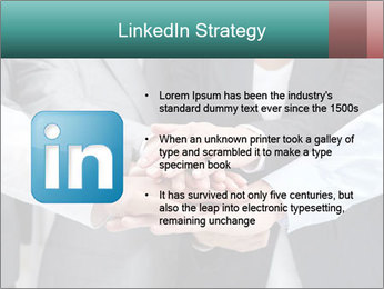 Business people hands PowerPoint Template - Slide 12