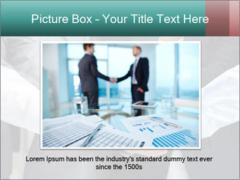 Business people hands PowerPoint Template - Slide 15