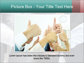 Business people hands PowerPoint Template - Slide 16