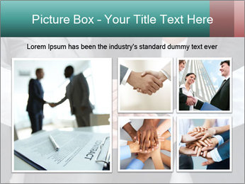 Business people hands PowerPoint Template - Slide 19
