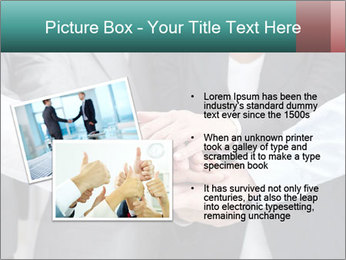 Business people hands PowerPoint Template - Slide 20