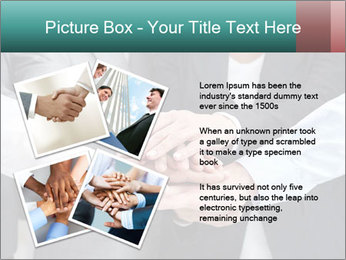 Business people hands PowerPoint Templates - Slide 23