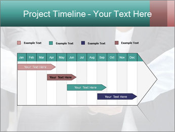 Business people hands PowerPoint Template - Slide 25