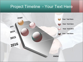 Business people hands PowerPoint Template - Slide 26