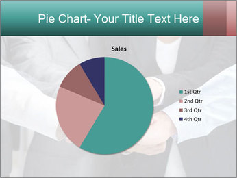 Business people hands PowerPoint Templates - Slide 36