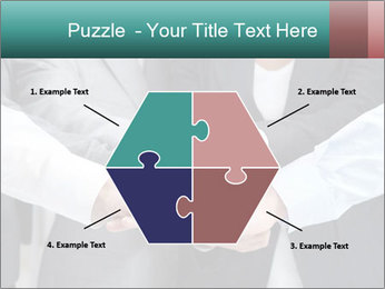 Business people hands PowerPoint Templates - Slide 40