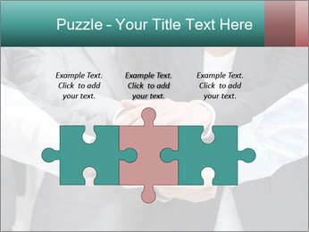 Business people hands PowerPoint Template - Slide 42