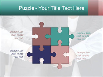 Business people hands PowerPoint Templates - Slide 43