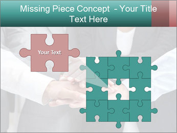 Business people hands PowerPoint Template - Slide 45
