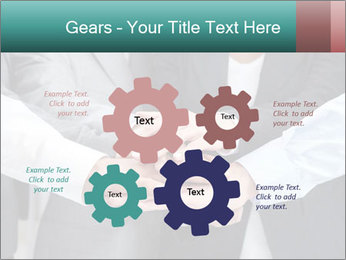 Business people hands PowerPoint Template - Slide 47