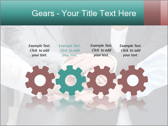 Business people hands PowerPoint Template - Slide 48