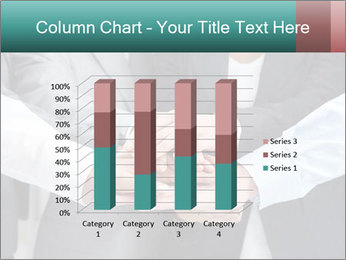 Business people hands PowerPoint Template - Slide 50