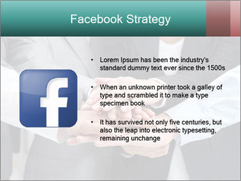 Business people hands PowerPoint Template - Slide 6