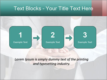 Business people hands PowerPoint Template - Slide 71