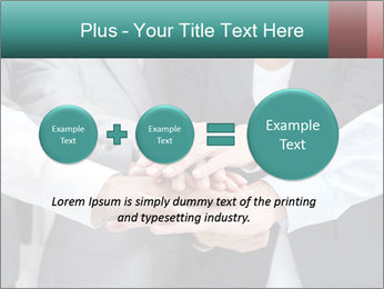 Business people hands PowerPoint Templates - Slide 75