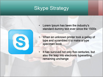 Business people hands PowerPoint Template - Slide 8