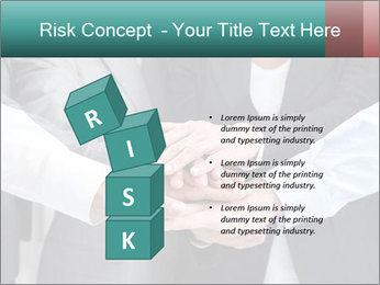 Business people hands PowerPoint Template - Slide 81