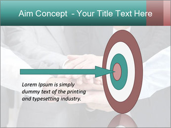 Business people hands PowerPoint Template - Slide 83