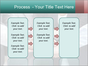Business people hands PowerPoint Templates - Slide 86