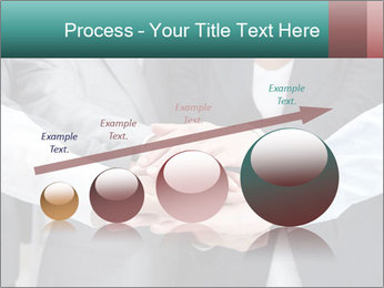 Business people hands PowerPoint Template - Slide 87