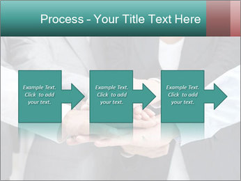 Business people hands PowerPoint Template - Slide 88